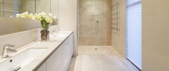 Room ideas tile inspiration for bathrooms kitchens for Bathroom designs the block