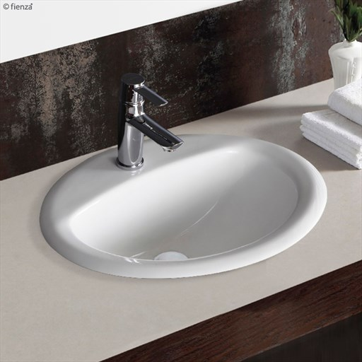 Crystal Counter Basin 530x445 1TH excl plug | Tuggl