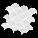 Mos Navona Fan Ice Stone (80x95) 290x290